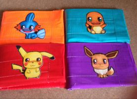 Pokemon Duct Tape Wallets! by LishaChan