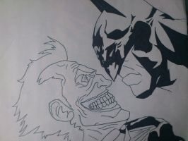 batman and joker by marty0x