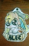 badge for alecbutts by MykaFurry