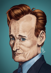 Conan O'Brien by Gigabeto