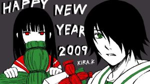 Jigoku Shoujo : HNY2009 by Kira-K