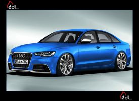 2012 Audi RS6 blue by EDL by EDLdesign