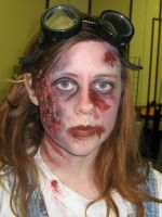 Chronicles Zombie Makeup by TrueAlaso