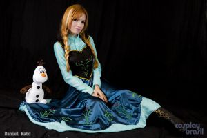 Cosplay Anna from Frozen by MishiroMirage