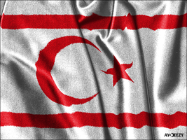 Northern Cyprus flag by AYDeezy