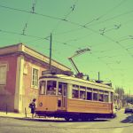 Tram in Lisbon, Portugal by globetrotter85