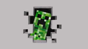 Minecraft creeper by IODOLLARBAGEL