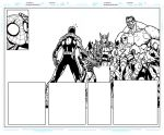 Avenging Spider Man 1 Pages 8 to 9 WIP Update by BigBlue2007