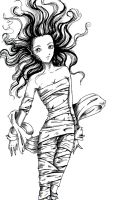 girl in wraps by smittywerberyagerman