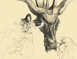 I have a dragon . . . value study by dendorrity