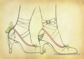 Magical Shoes by ArticGladiolus