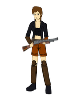 humanized Ace's outfit v2 by glue123