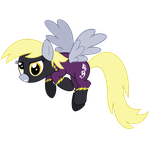 Request #2 ~ Derpy Hooves the Shadowbolt ~ by Radiant--Eclipse