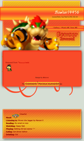 Bowser Journal skin by DBluver