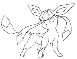 Photos - Bild - Galeria: POKEMON COLORING PAGES GLACEON