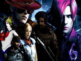 RE6 Fun Background by Tinythorn