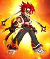 JIN'S_BLAZING_FURY by Akuzo16