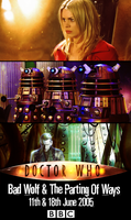 Doctor Who: Bad Wolf - The Parting of Ways Poster by feel-inspired