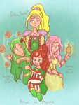 :TBT: The Ladies of Final Fantasy IV by nintendohime