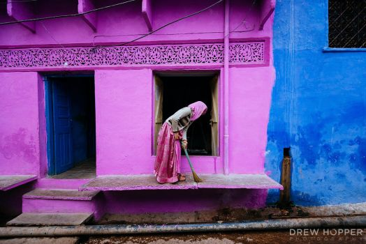 Lady in Pink by DrewHopper