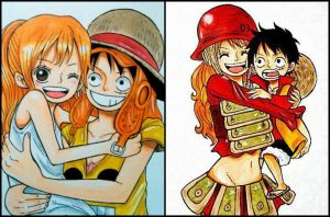 Luffy and Nami Film Z by GinThePsycho