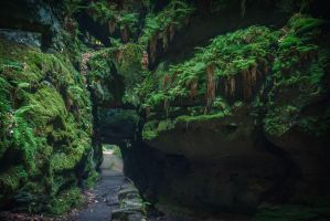 The old dwarven ways by aw-landscapes