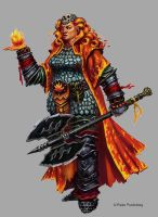 Fire Giant Magmablade by orangus