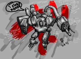 Excrement-Destroy-Bot by puky7