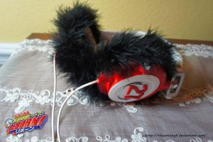 . Tsuna Headphones . Katekyo Hitman Reborn! . by TheArtistyk
