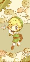 Link scroll No. 1 by Rubi-chan