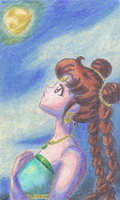 ACEO: The Fourth Serenity by whiizu