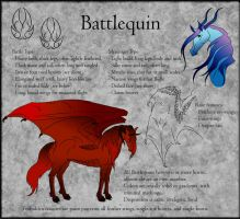 Battlequin Breed Sheet by Everland-Stables