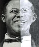 Louis Armstrong by ladybeastcharmer