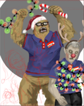 WIP: Christmas Card by telephonehome