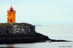 Flatey Watchtower by Yinxy
