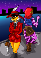 Sly 4 - I'll Guard Your Back by KaylaTheDragoness