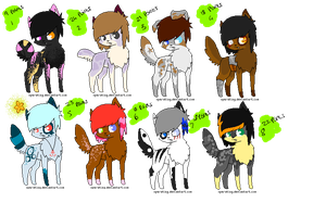 . Puppy Adopt Batch4 . by HyperMuttAdoption
