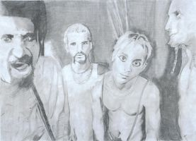 System of a Down - pencil by Horsissa
