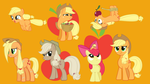the many faces of applejack by neodarkwing