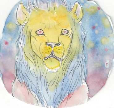 Dawn Lion by cat-tailed