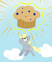 Derpy's Muffin Sunshine by The1nkyG33k