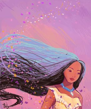 Disney -Painting with the Wind by UnicornBlitzkrieg