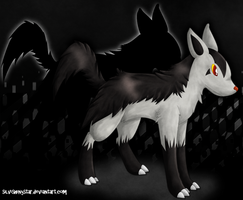 Mightyena by SilviShinystar