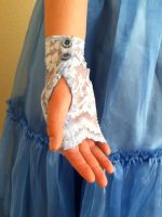 Alice Cosplay Gloves by PandoraLuv