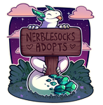 Introducing: Nerblesocks Adopts! by oddsocket