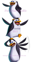 Penguin totem by Pixie-van-Winkle