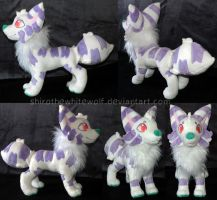 [PLUSH] Gonzalo by ShiroTheWhiteWolf