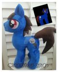 Mlp plush commission Zion Kraze by CINNAMON-STITCH