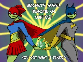 Super Hero OC Contest Banner by wachey