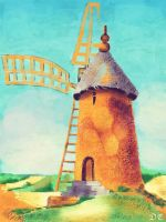 French Windmill by David-c2011